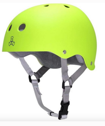 Triple Eight Sweatsaver Skateboard Helmet Zest