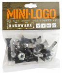 "MINI LOGO HARDWARE 1.5"" PHILLIPS - BLACK"