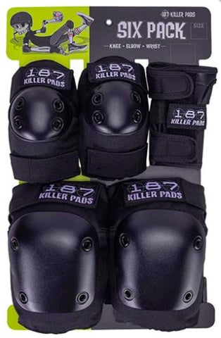 187 Killer Pads Six Packs L/XL