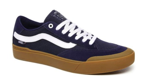 Vans Berle Pro Skateboard Shoes - Dress Blues/Gum