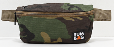 CAMO SIDE BAG BY BUMBAG