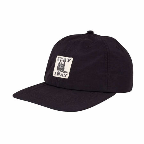 CREATURE STAY AWAY STRAPBACK BLK