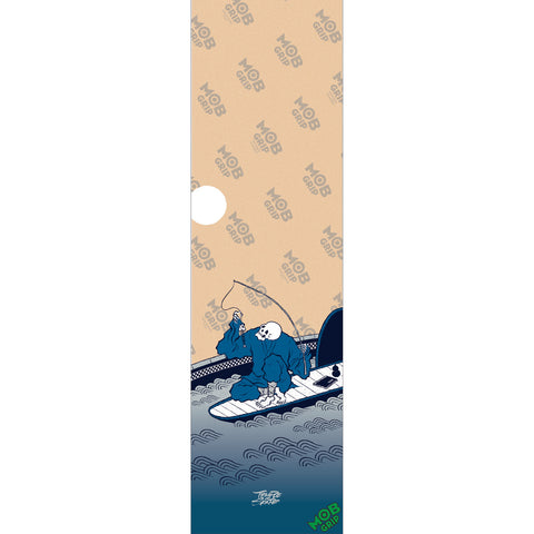 "Mob Griptape Temple Of Skate Fishbowl Clear 9"" x 33"" Sheet"