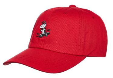 HUF SNOOPY STRAPBACK RED