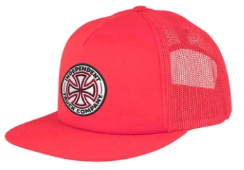 INDEPENDENT TRUCKS MESH SNAPBACK RED