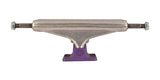 Stage 11 Hollow Silver Ano Purple Standard Independent Skateboard Trucks