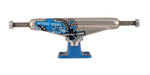 Stage 11 Forged Hollow Chris Joslin Silver Blue Standard Independent Skateboard Trucks