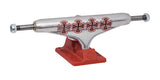 Stage 11 Hollow Lopez Crosses Silver Burgundy Standard Independent Skateboard Trucks