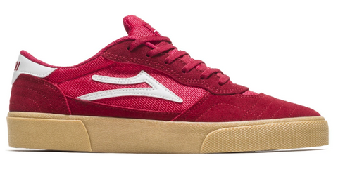 LAKAI CAMBRIDGE RED GUM SUEDE