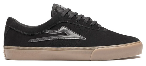 LAKAI SHEFFIELD BLACK GUM SUEDE