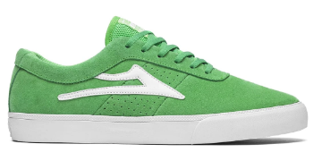 LAKAI SHEFFIELD GREEN SUEDE