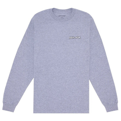 FUCKING AWESOME MINDCRAFT LONG SLEEVE SPORT GREY M