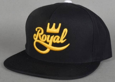 ROYAL SNAPBACK BLACK GOLD