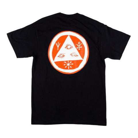 Welcome Talisman Premium Tee - Black/Orange/White
