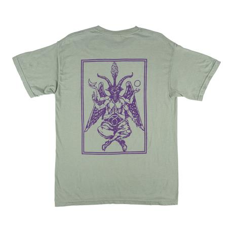Welcome Bapholit Garment-Dyed Tee - Sage T-shirt