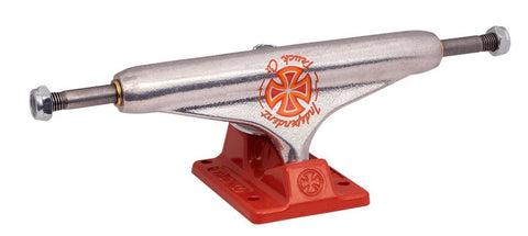 Set of Stage 11 Pro Milton Martinez Silver Red Standard Independent Skateboard Trucks