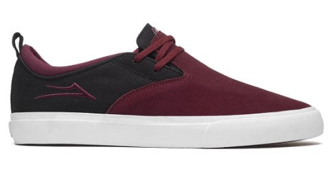 LAKAI RILEY 2 BURGUNDY/BLACK SUEDE