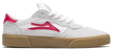 CAMBRIDGE WHITE RED SUEDE BY LAKAI