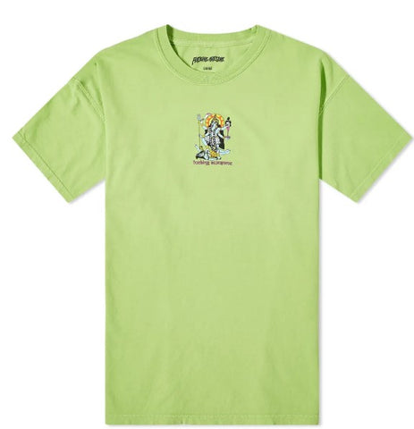FUCKING AWESOME REDEMPTION TEE LIME