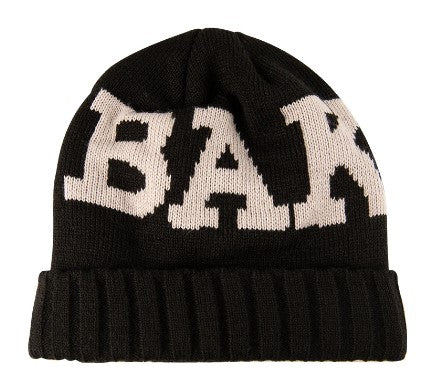 BAKER RIBBON BEANIE BLACK