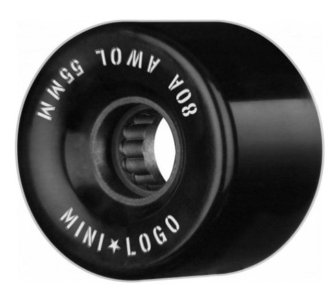 MINI LOGO A.W.O.L. BLACK 55MM 80A