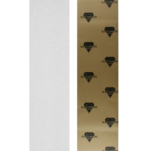 "Black Diamond Skateboard Grip Tape Sheet Clear 9"" x 33"""
