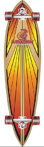 LAYBACK SOUL RIDE RED PINTAIL COMPLETE