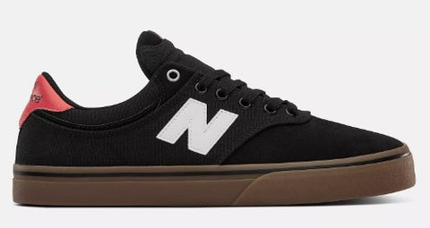 NEW BALANCE NUMERIC 255 BLACK/WHITE/GUM