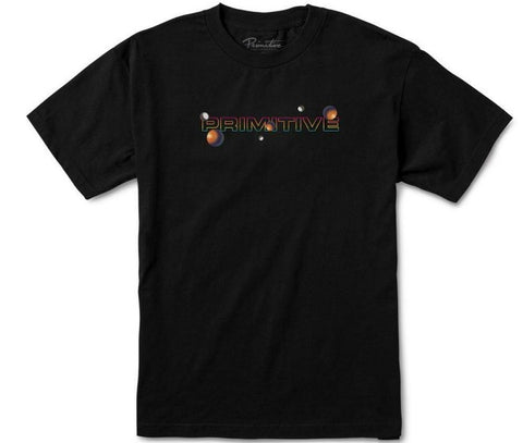 PRIMITIVE SKATEBOARDS DIRTY P PARTICLE TEE BLACK