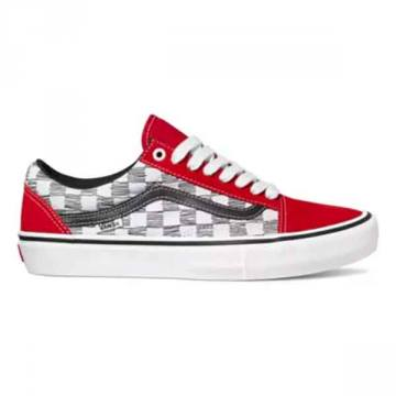 Vans old skool pro sketchy checkered