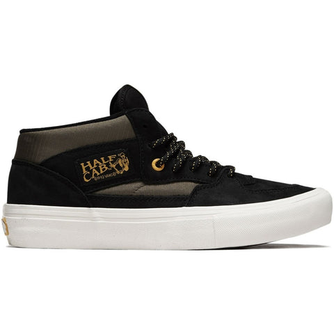 VANS HALF CAB PRO (SURPLUS) (BLACK/MILITARY)