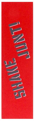 SHAKE JUNT SINGLE SHEET COLORED GRIP 9X33 RED/BLACK/WHITE
