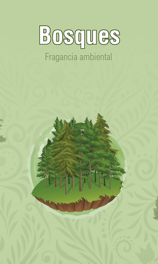 Fragancia Ambiental - Bosques