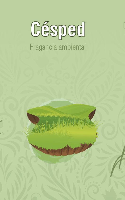 Fragancia Ambiental - Cesped