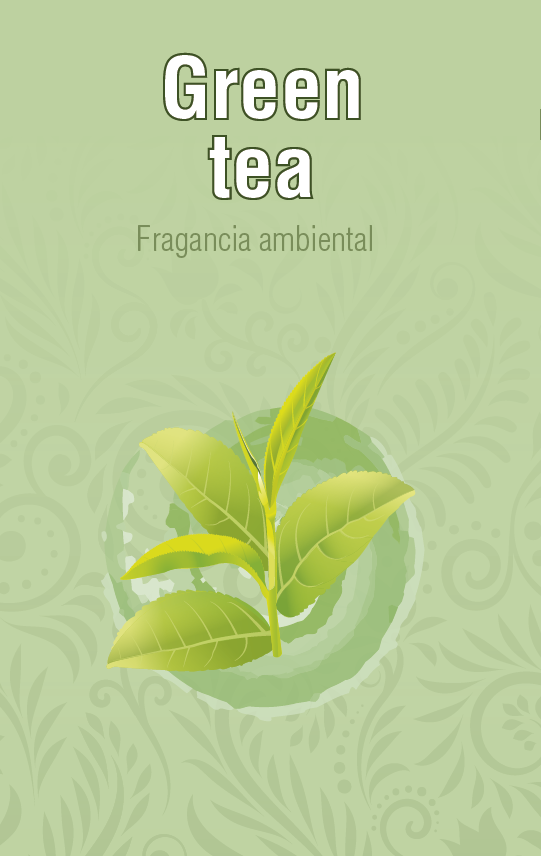 Fragancia Ambiental - Green Tea