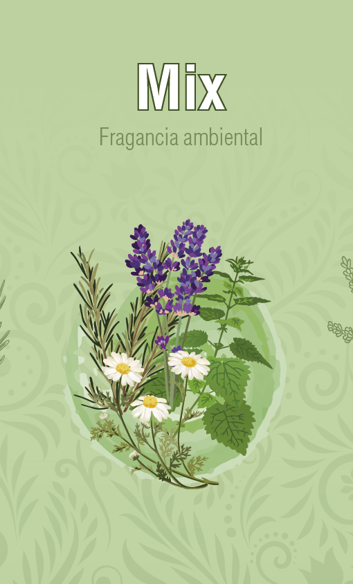 Fragancia Ambiental - Mix Aromatico