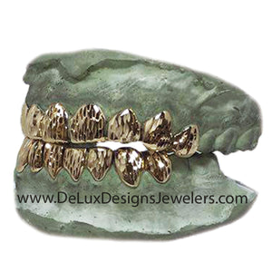 16 Pack- 8 on 8 Grillz with Diamond Cuts