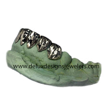 Load image into Gallery viewer, 6 Slug Grillz With Full Diamond Cuts