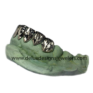 6 Pack Grillz With Full Diamond Cuts