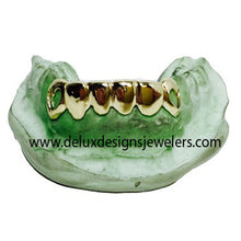 Load image into Gallery viewer, 6 Pack Bottom Grillz with Heart Cut Out Design