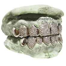 Load image into Gallery viewer, Exclusive Perm-cut Pave VVS Diamond Grillz
