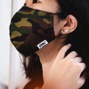 Sew Much Love Fabric Mask - Camo