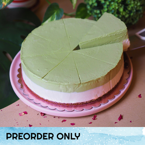 Kyoto-Uji Matcha 'Cheese'cake - 8-inch Whole Cake (Preorder only) (N)