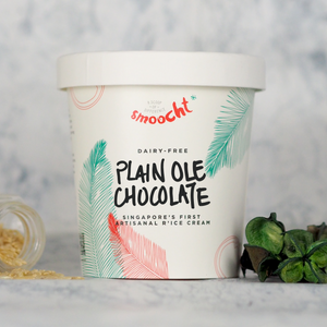Plain Ole Chocolate R'ice Cream Pint (N)
