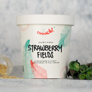 Strawberry Fields R'ice Cream Pint (N)