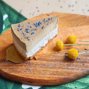 Earl Grey Lavender 'Cheese'cake - Slice (N)