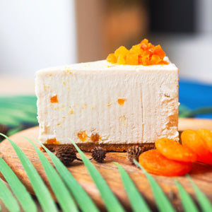 Lemon Apricot 'Cheese'cake - Slice (N)