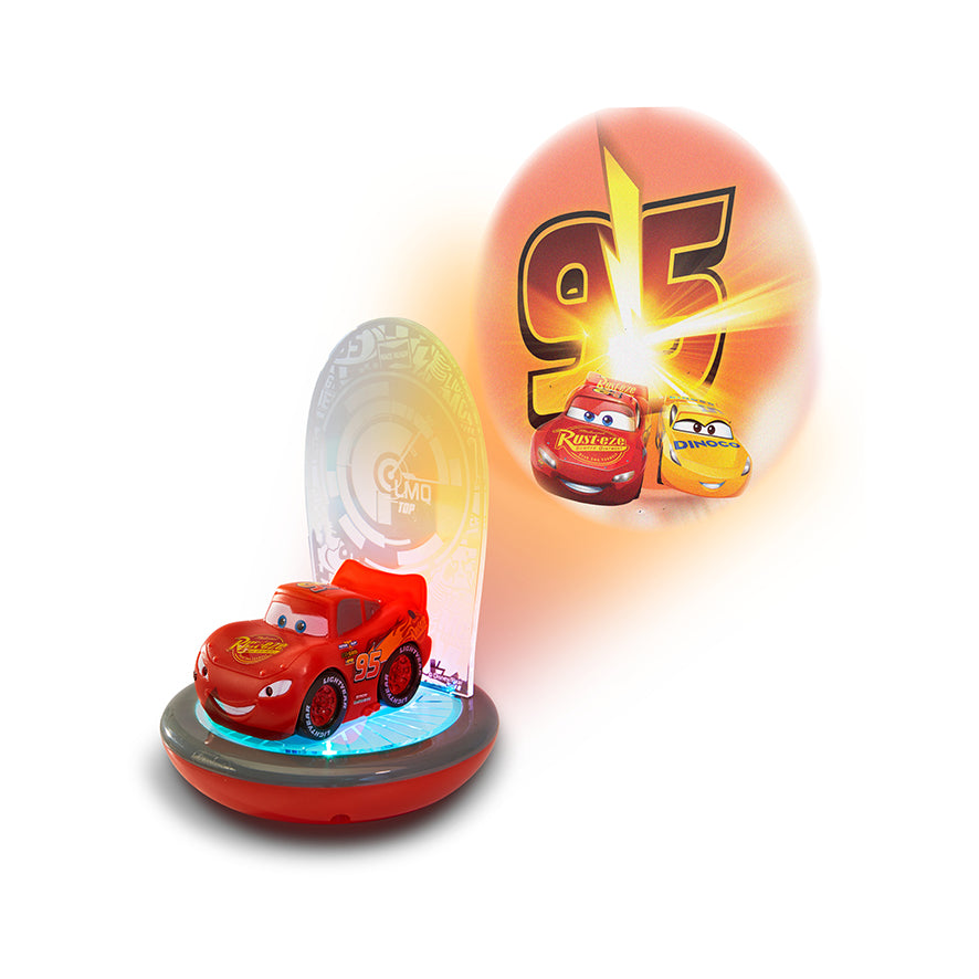 Flash McQueen Cars GoGlow Magic Night Light