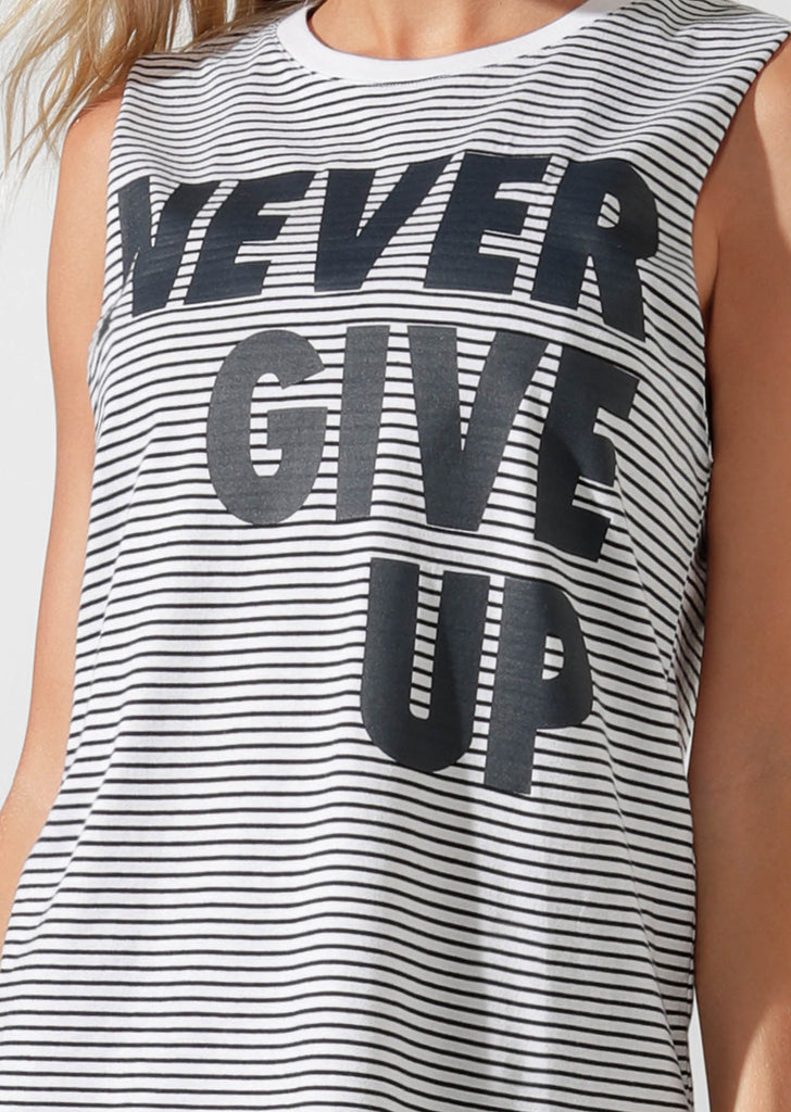 Débardeur de sport Never Give Up