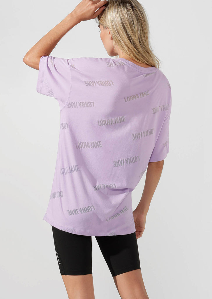 T-shirt Iconic Oversized Burnout